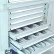 Compac_stor_Mobile_shelving_with_multisdrawers_system for_museum